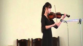 музыка на скрипке.