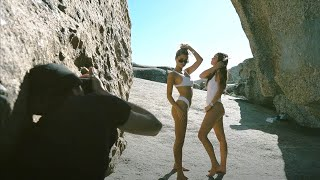 CAPE TOWN Film shoot for a Bikini Lable NEW SONY A7iii TEST SHOOT