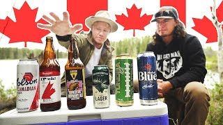 Trying CANADIAN Beer for the FIRST TIME