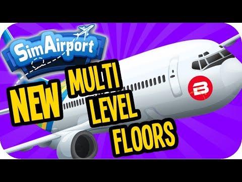 SIM AIRPORT: NEW Multi Level & Offices & Kiosks! - SimAirport Update #2
