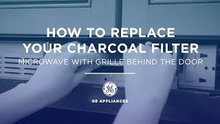 Learn how to replace the Charcoal Filter in your GE Appliances Microwave. Demonstration is specifically for microwaves with a grille behind the door.