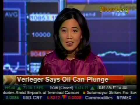 Verleger Says Oil Can Plunge - Bloomberg