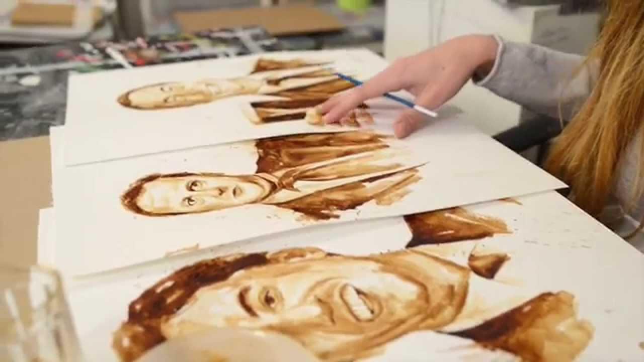 Maria A. Aristidou - slikarica kavom Maxresdefault