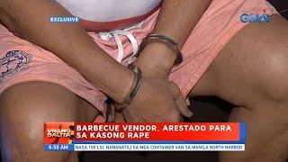 UB: Barbecue vendor, arestado para sa kasong rape