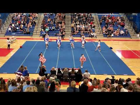 Caroline High School at Region 4B Cheer Competition 2019