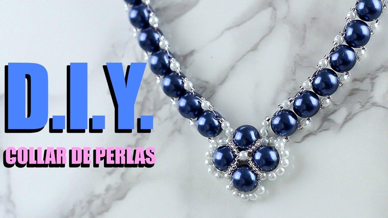 18b5e7f972a9 DIY COLLAR DE PERLAS PARA MAMÁ! DIY Pearl Necklace! - YouTube