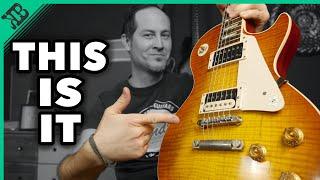 Best LES PAUL I ever had   Gibson Les Paul 58 Reissue   Gear Corner