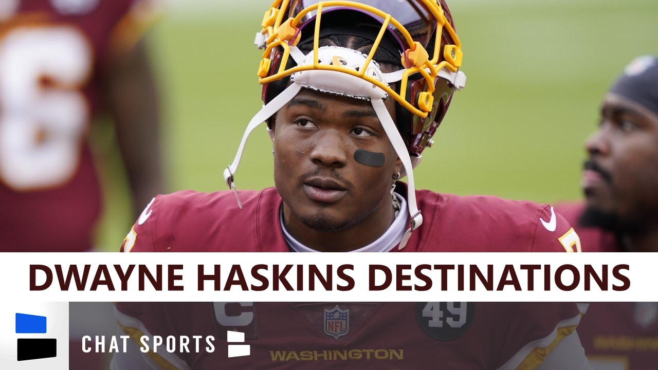 Ex-Washington QB Dwayne Haskins expected to sign with Steelers