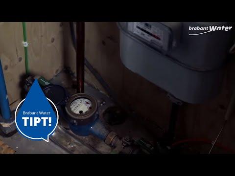 Voorkom dat uw watermeter bevriest
