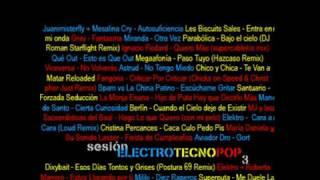 Sesión Electro Tecno Pop 3