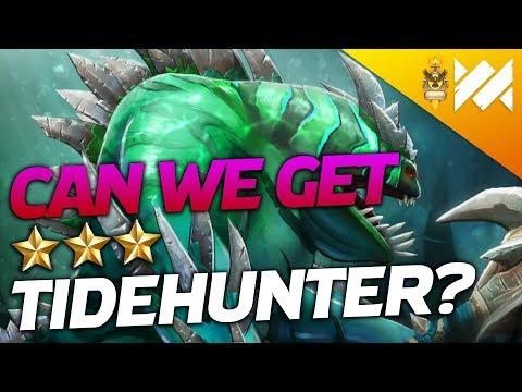Can we GET Tidehunter 3??? | Dota Underlords | Savjz