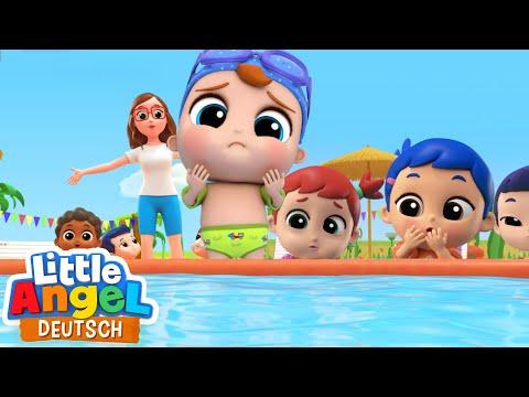 Kleinkinder Im Wasserpark   Kinderlieder   Little Angel Deutsch