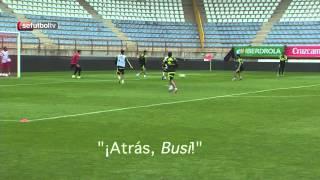 Asi suena un entrenamiento de la Selección española de fútbol