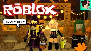 Roblox Trick Game or Home Deal of Youtubers Halloween with Titifans