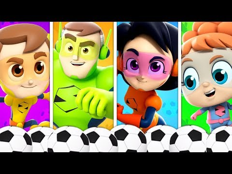 Soccer Song Nursery Rhymes For Babies | Baby Songs For Children By The Supremes