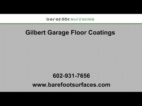 Gilbert Garage Floor Coatings | Barefoot Surfaces