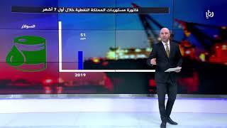 تراجع فاتورة المملكة من المستوردات النفطية 20% لنهاية تموز  (26/9/2019)