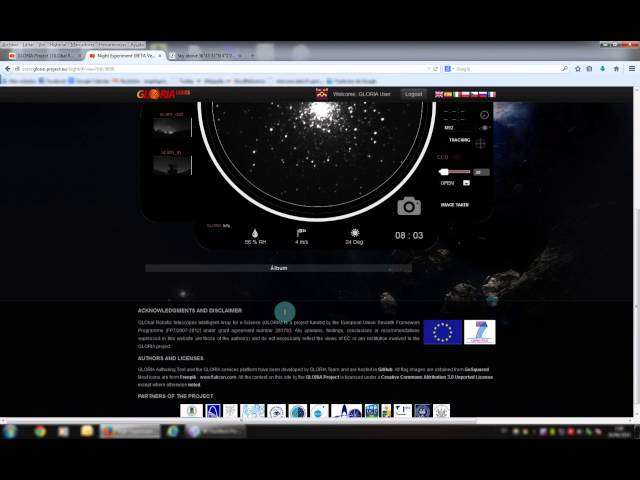 telescopio virtual gratis