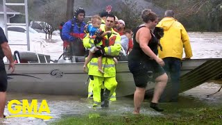 Hundreds rescued after Hurricane Sally strikes Gulf Coast l GMA