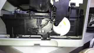 HP C5283 Замятие в каретке(После установки очень похожей шестеренки от другого принтера HP началось такое. Первый раз отработало норм..., 2015-03-13T03:07:19.000Z)