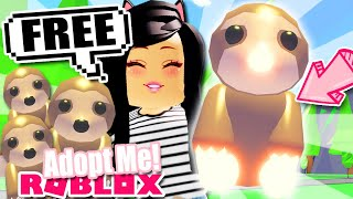 How To Get NEON SLOTH Pet FREE in ADOPT ME! Roblox Gamepass Update