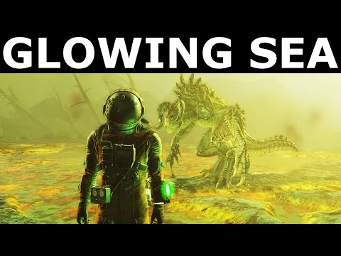 Fallout 4 - The Glowing Sea - All Companions Comments
