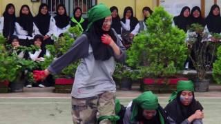 demonstrasi PMR Wira Hasa