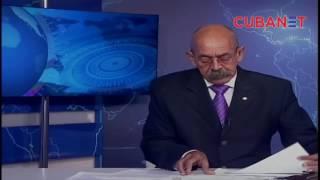 Presentador del noticiero de la Televisión Cubana se confunde ante las cámaras