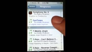 Tutorial: iphone 3g/s/4g/s How to download ringtones for free