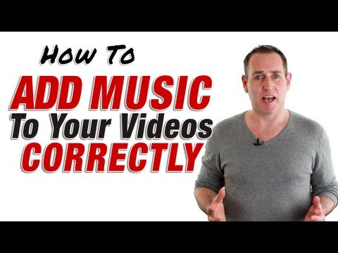 How To Add Music To  Correctly  2013