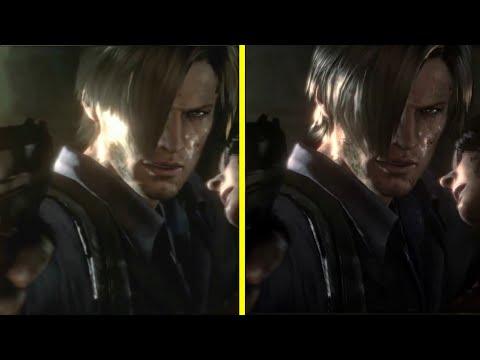Resident Evil 6 PS3 vs PS4 Graphics Comparison