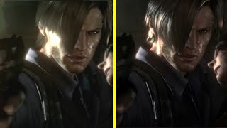 Resident Evil 6 PS3 vs PS4 Graphics Comparison
