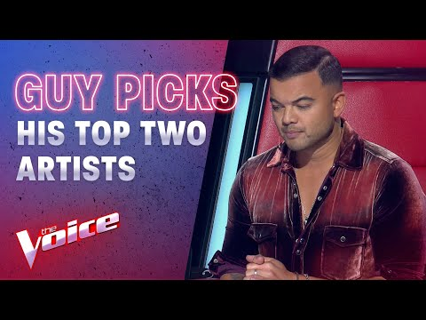 The Showdowns: Guy Sebastian Picks His Top Two Artists | The Voice Australia 2020