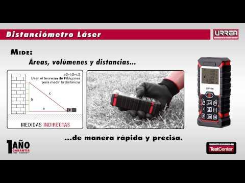 Distanciometro Laser URREA URREA México thumbnail