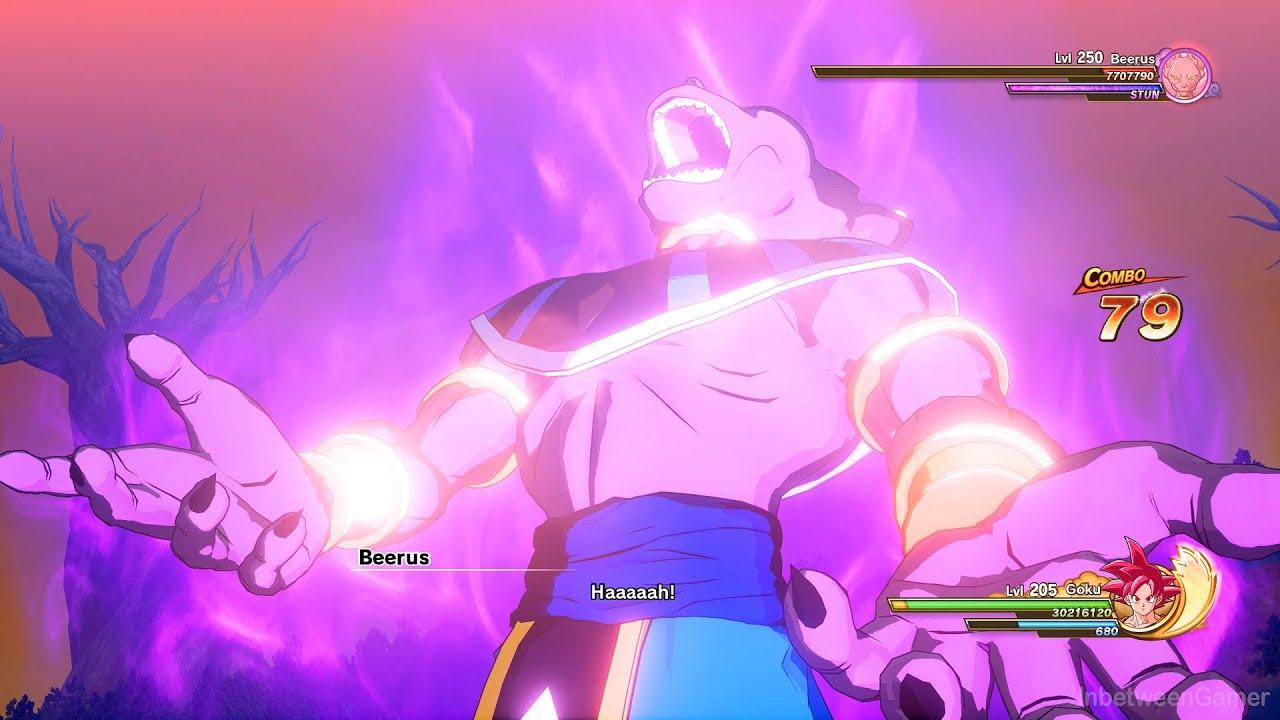 Dragon Ball Z: Kakarot - The Ultimate Battle! Goku & Vegeta Vs Level 250 Beerus Boss Battle