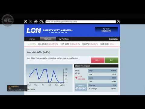 MAKE $$$ MILLIONS ON GTA 5 STOCK MARKET!