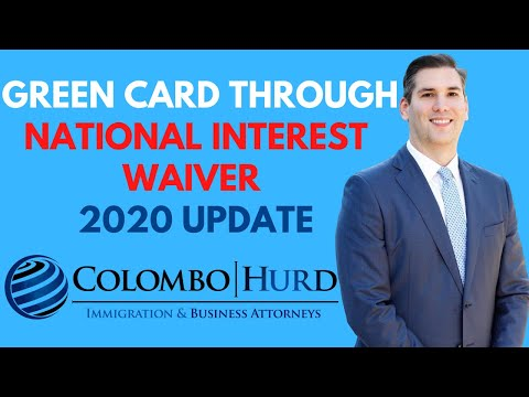 Obtaining a Green Card through the National Interest Waiver (NIW)