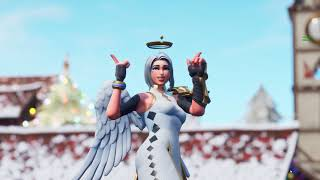 """*NEW* THICC ANGEL """"ARK"""" SHOWCASED! WHAT IS UNDER HER DRESS? 😍❤️ THICC FORTNITE SHOWCASE"""