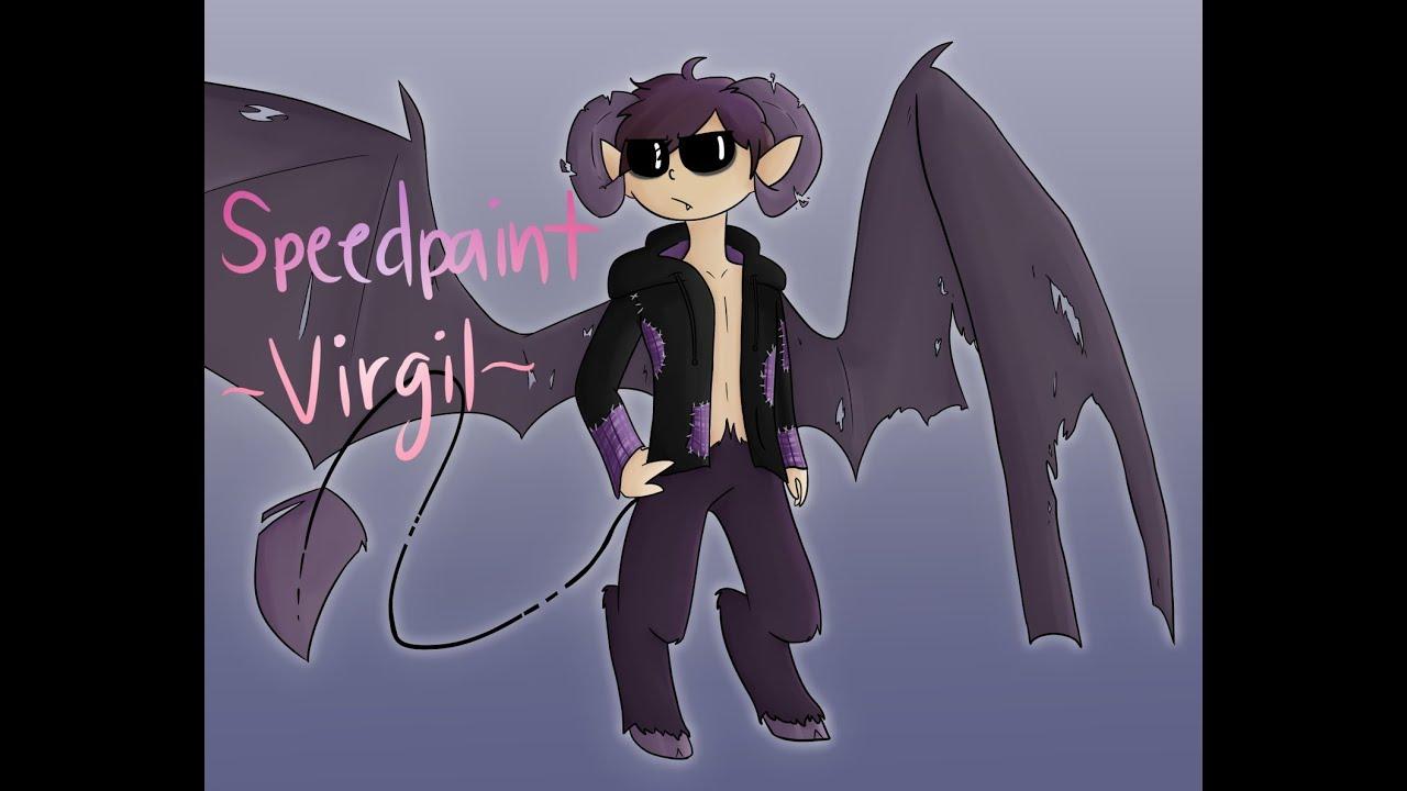 Demon!Virgil (Sanders Sides Speedpaint)