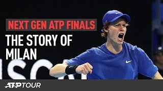 The Story Of Milan | NEXT GEN ATP FINALS 2019