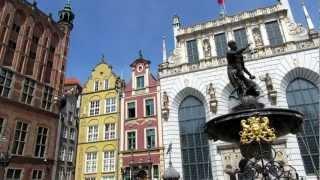 Neptune fountain, Dlugi Targ, Gdańsk, Pomeranian, Poland, Europe