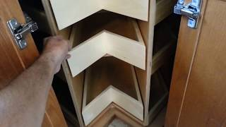 Glide around  corner unit - Get the most from your corner cabinet!