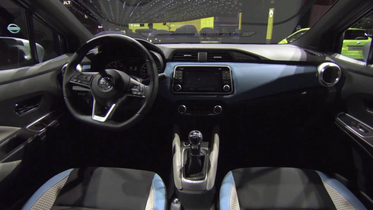 Nissan Micra Gen5 Interior Design At Paris Motor Show 2016