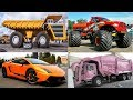 Learning Transport and Vehicles Names in English for Children
