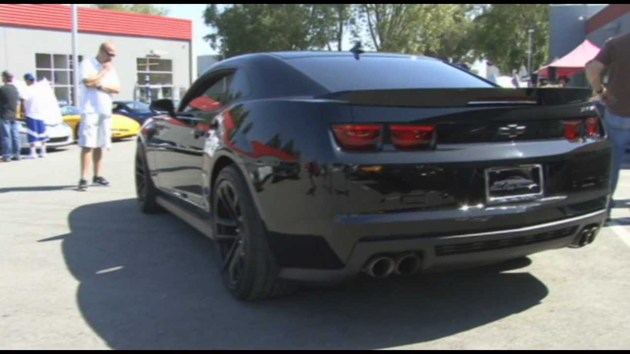 5th Generation Chevrolet Camaro Zl1 In Detail With