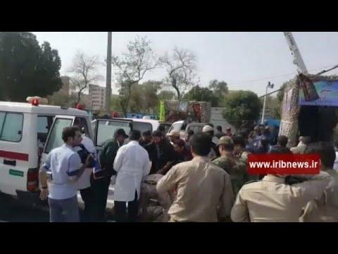Iran : un attentat vise un défilé militaire