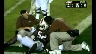 Louisville @ Miami(FL) College Football (FULL GAME) 2004