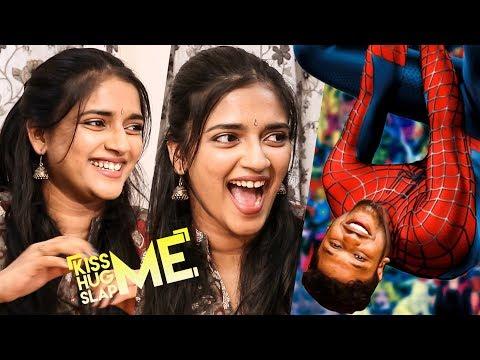 FIRST EVER Hanging Interview - Vasundhara Plays Kiss Me  Hug Me  Slap Me  Game   KHS