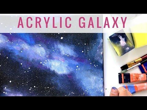 Abstract floral painting Demo time lapse / Abstraktes Blumenbild in Acryl Zacher-Finet von YouTube · Dauer:  6 Minuten 59 Sekunden