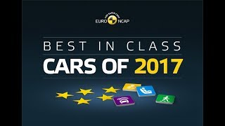 Euro NCAP Best in Class Cars of 2017